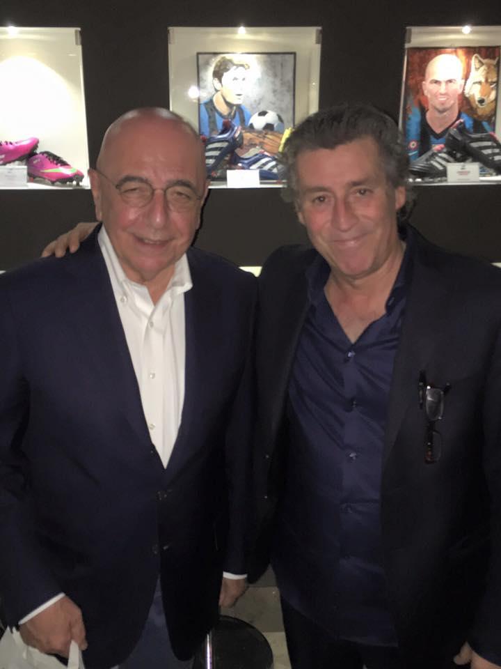 Galliani e il Direttore Marco
